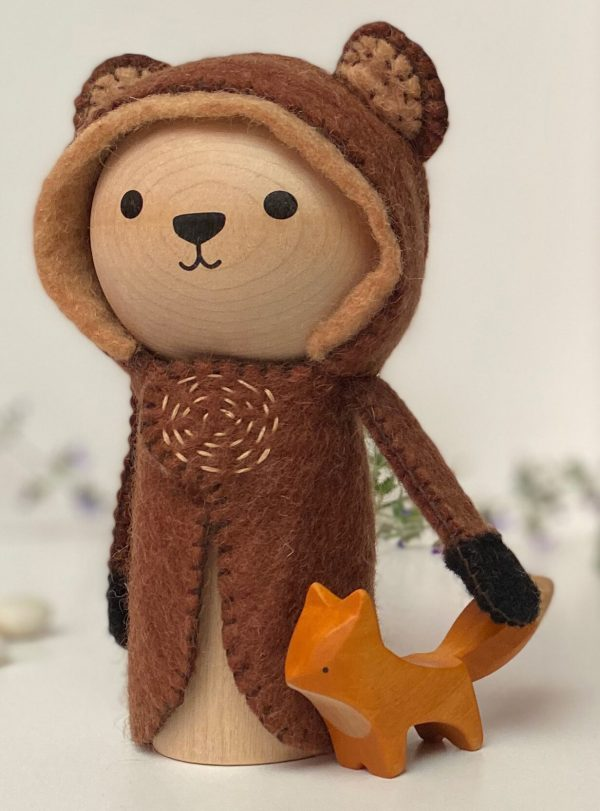 baloo bear with fox