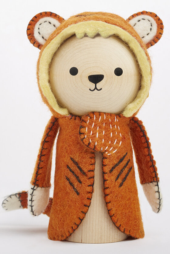 ringo tiger wooden toy